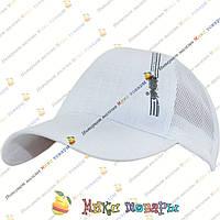 Однотонная белая кепка подростков (объём 57- 58 см) Один цвет (vti853)
