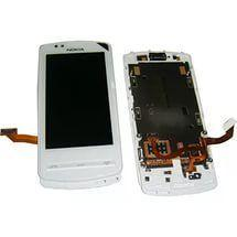 Дисплей с тачскрином Nokia 700 RM-670 белый