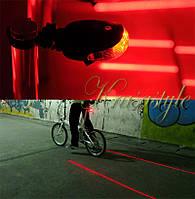 Лазерный габарит, фара, стоп сигнал