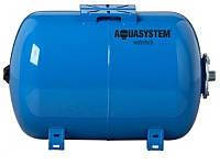 Гидроаккумулятор AQUASYSTEM VAO 80 литров (горизонтальный)