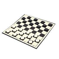 Набор шашек с игральной доской размер: 27 x 27 см.
