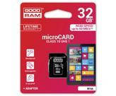 Карта памяти GOODRAM 32GB microSDHC Class 10 (M1AA-0320R11) (M1AA-0320R11)