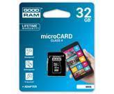 Карта памяти GOODRAM 32GB microSD Class 4 (M40A-0320R11) (M40A-0320R11)