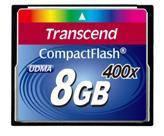 Карта памяти Transcend  8GB CF 400X (TS8GCF400)