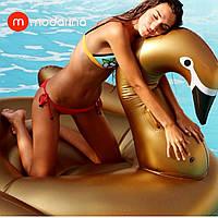 Modarina Надувной матрас Золотой Лебедь 190 см