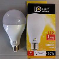 LED лампа LightOffer 20W A80 E27 4000K