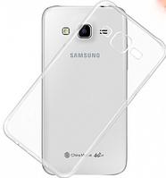 Чехол бампер для Samsung Galaxy J2 J200 прозрачный