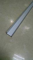 Профиль алюминиевый LED BET7 6х15,5мм, неанодированный, без линзы (рассеивателя)