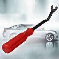 Инструмент для разборки салона автомобиля клипсодер металлический