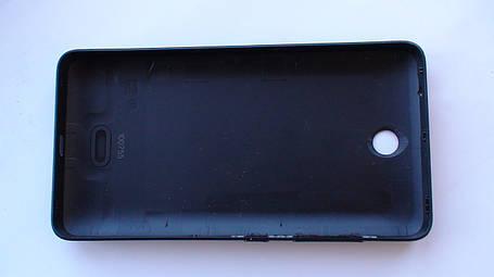 Задняя крышка Microsoft (Nokia) Lumia 430 черная оригинал, 8003541 , фото 2