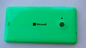 Задняя крышка Microsoft (Nokia) Lumia 535 зелёная, оригинал, 8003487
