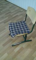 Ортопедическое сидение для школьного стула с гречневой лузгой