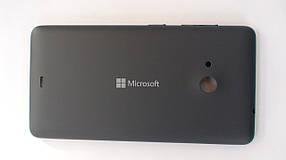 Задняя крышка Microsoft (Nokia) Lumia 535 серая, оригинал, 8003484