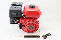 Двигатель мотоблочный в сборе под шлиц Ø25мм 6,5л.с. 168F