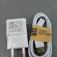 Сетевой адаптер + кабель Samsung 2A в коробке