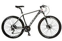 "Велосипед 27.5"" LEON XC 80 2017 черно-белый"