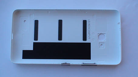 Задняя крышка Microsoft (Nokia) Lumia 640 DS белая, оригинал, 02509H7, фото 2