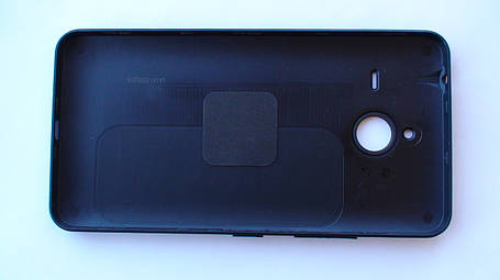 Задняя крышка Microsoft (Nokia) Lumia 640 XL чёрная, оригинал, 02510Q0, фото 2