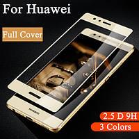 3D закаленное защитное стекло Huawei P8 lite 2017