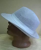 Летняя молочная и белая шляпа для мужчин  из текстильной нити