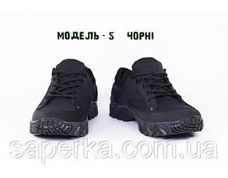 Тактические мужские кроссовки на мембране. Модель 5 черный , фото 2