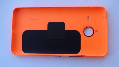 Задняя крышка Microsoft (Nokia) Lumia 640 XL оранжевая, оригинал, 02510P9, фото 2