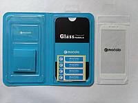 Защитное стекло Mocolo для Xiaomi Redmi 4x с белой рамкой, фото 1