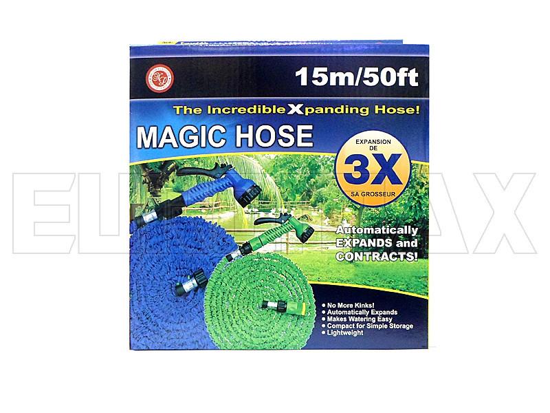 Шланг поливочный 15,0м steel HOSE-15_0m-50FT-steel