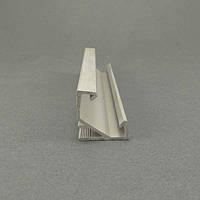 Профиль алюминиевый LED угловой BET7U 17х17мм, анодированный, без линзы (рассеивателя)