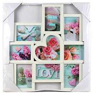 Рамка для фотографий EVG BIN WHITE Collage 9