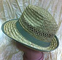 Мужская шляпа популярной формы из пшеничной соломки  , фото 1