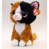 "Мягкая игрушка Beanie Boo's - Котенок ""Tauri"" 25см, TY"