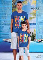 Детский комплект футболка+шорты для мальчика Турция. VOGUE 35000. Размер 6-7 лет.