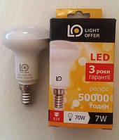 LED лампа LightOffer 7W R50 E14 4000K