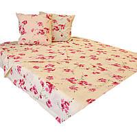 Комплект постельного белья двуспальный 180/220, нав-ки 70/70, ткань поплин, 100% состоит из хлопка