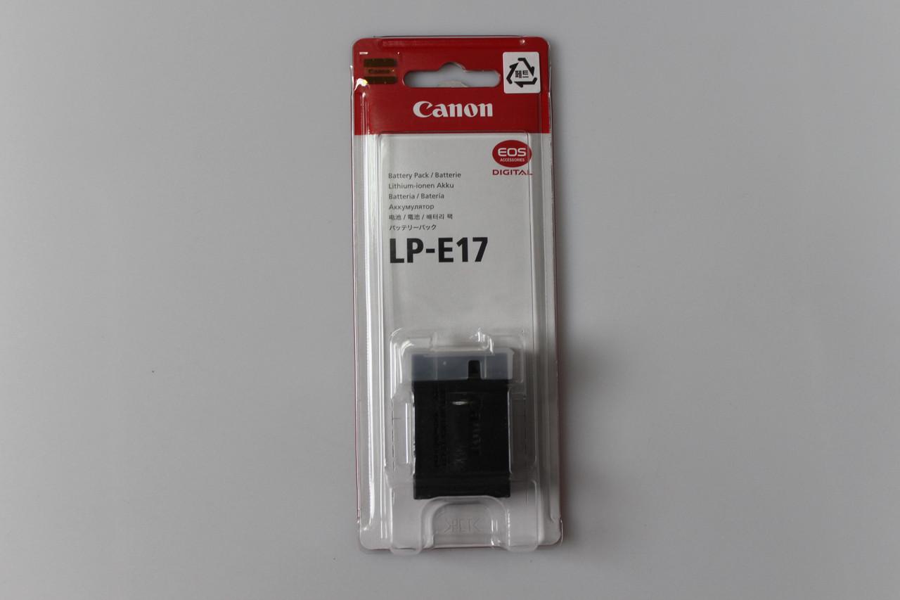 Аккумулятор Canon LP-E17 Оригинал / в магазине