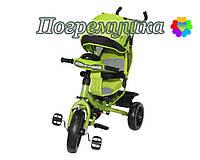 Детский трехколесный велосипед Crosser T-One Eva - Зеленый