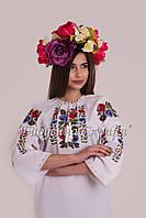 Заготовка для вишивки бісером/нитками жіночої сорочки БС-119