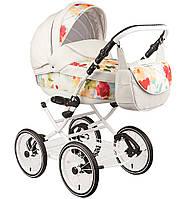Детская универсальная коляска Adamex Katrina 1S эко-кожа