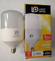 LED лампа LightOffer 40W H115 E27 5000K