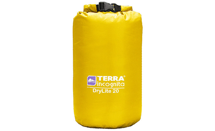 Гермомешок Terra Incognita DryLite 20 жовтий