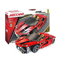 Конструктор автомобиль Ferrari GTB 488 Roadster 305 деталей, Meccano (6028974)