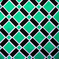 Ткань микромасло принтованное (цветное) - клетка зеленая