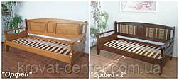 """Деревянный диван кровать с мягкой спинкой """"Орфей - 2"""", фото 3"""