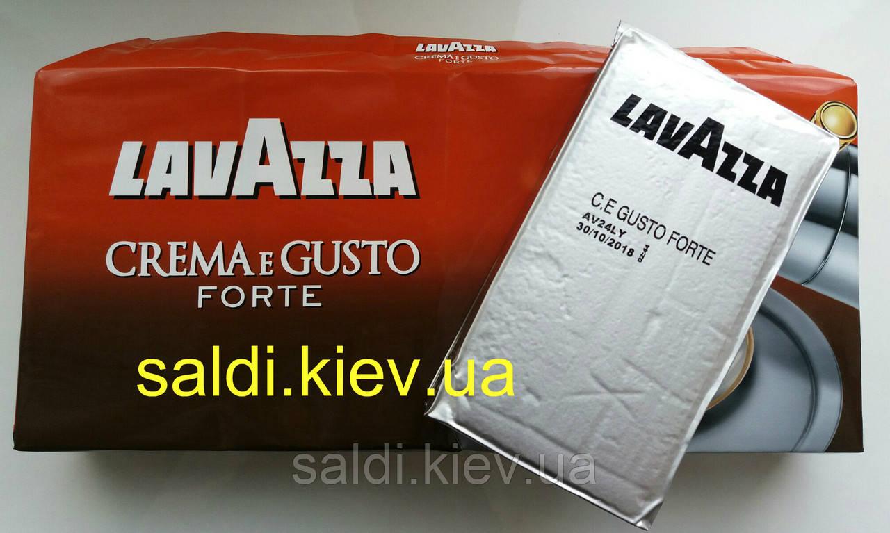 Кофе молотый Lavazza Crema e Gusto Gusto Forte 250г