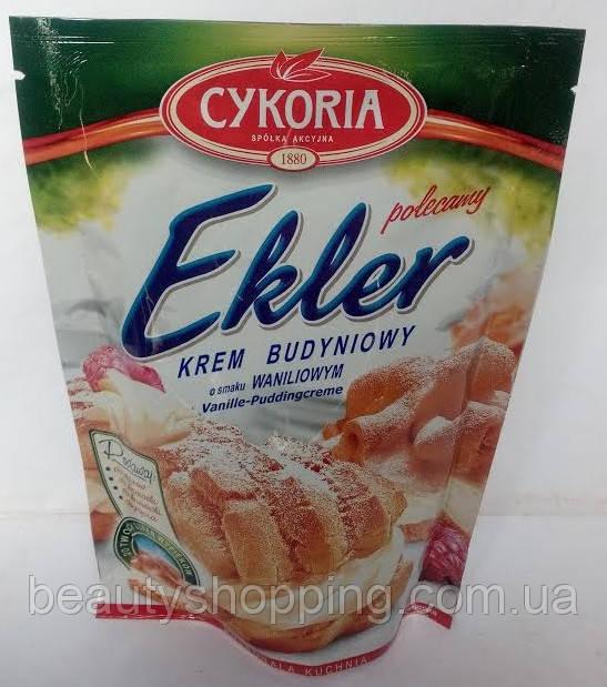 Заварной крем пудинговый для торта Ekler Cykoria Польша 250 гр