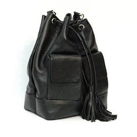 Кожаная сумка модель 17 флотар/ сумочка на плечо