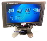 Телевизор портативный HD-V788 (7.8``, TV, FM, USB, SD-MMC)
