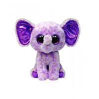 """Мягкая игрушка Beanie Boo's - Слон """"Ellie"""" 25см, TY"""