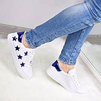 Кроссовки женские Utopia белые, спортивная обувь